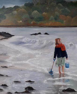 """Saint Jacut de la mer"" - Maryse LECART (ARTPOSTEL Normandie)"