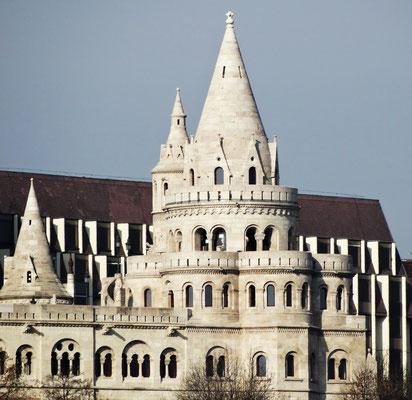 Fischerbastei Halászbástya Ungarn Budapest Hungary
