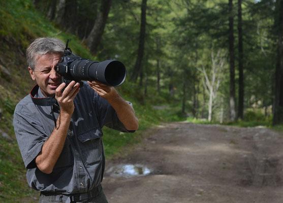Le photographe Patrick Boit