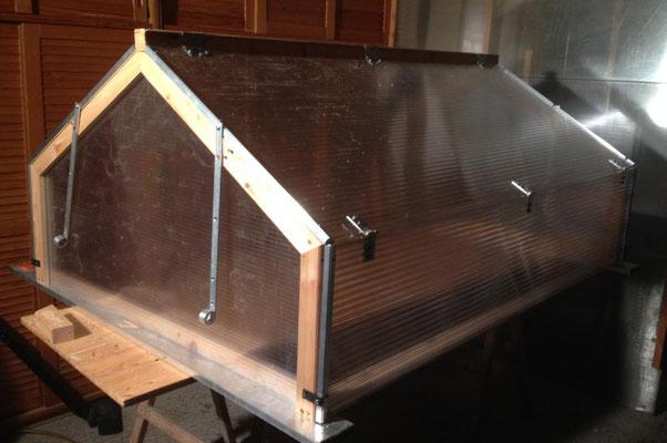 Hochbeetabdeckung 125 x 168 cm