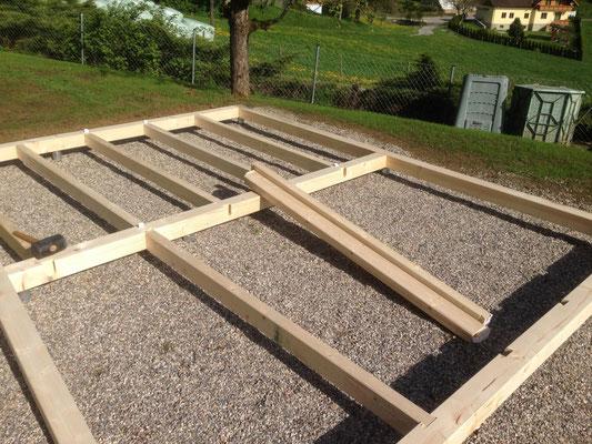 Bodenrost für Gartenhaus