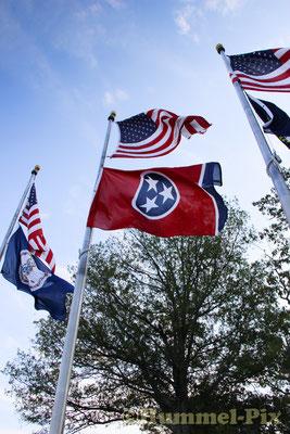 Die Staatsflagge Tennessee's