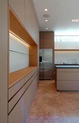 Detail Küchenanlage