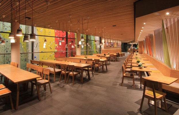 Restaurant Des Kletter Und Boulderzentrums In München