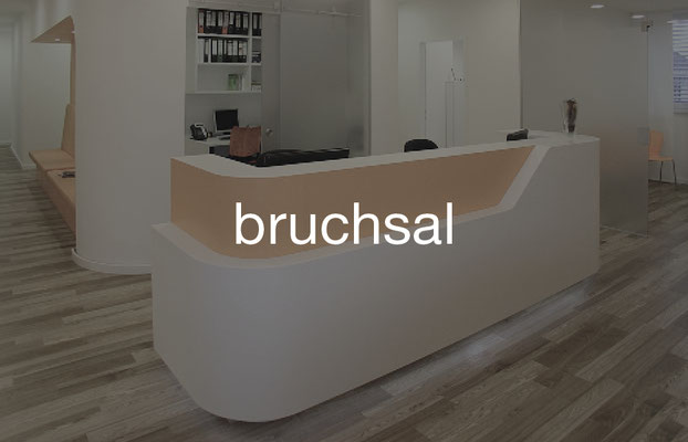 Ärztehaus Bruchsal nördlich von Karlsruhe in Baden-Württemberg
