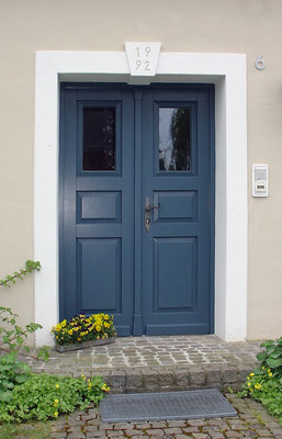 Haustür (lackiert)