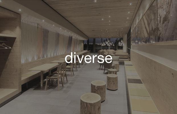 Diverse Restaurants