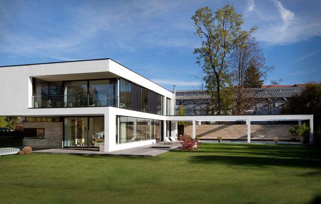 Modernes Architekten-Wohnhaus in München