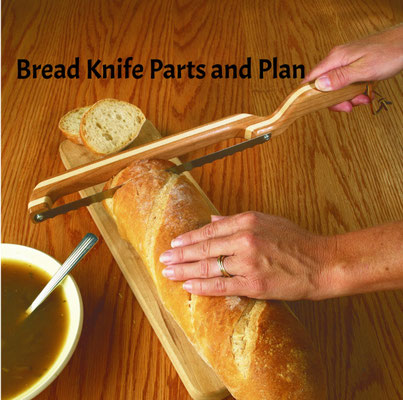 WOOD Magazine Bread Knife Plan & Parts