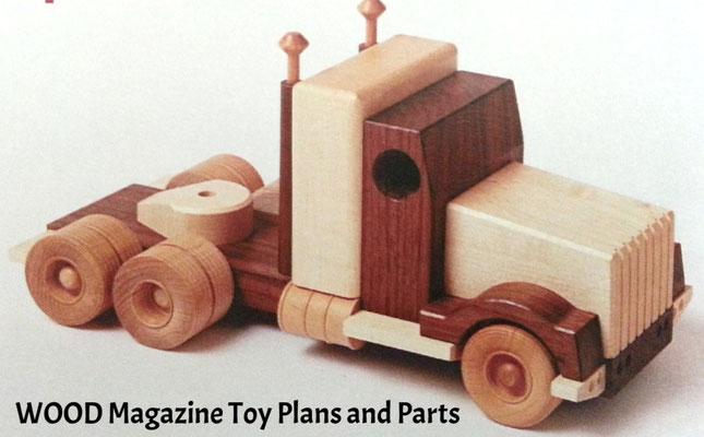 WOOD Magazine Toy Plans & parts
