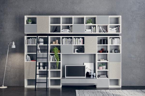 Soggiorno Living - Novamobili Wall 30