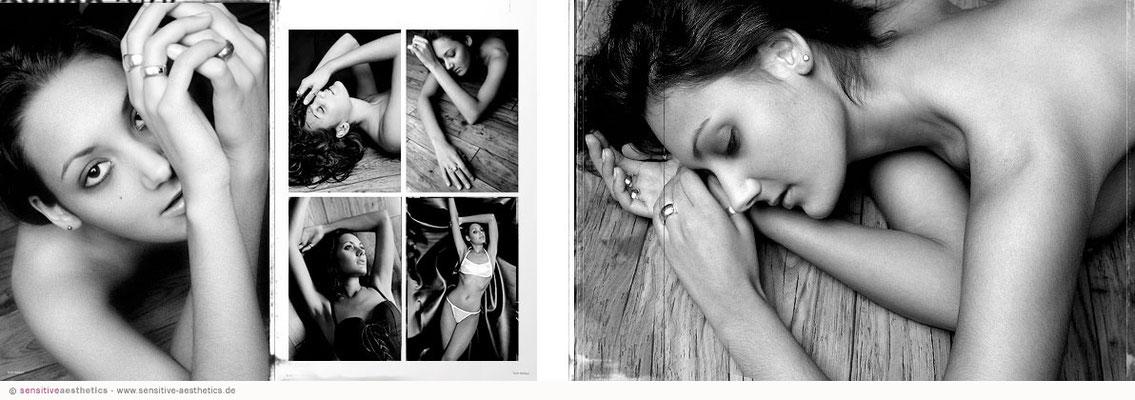 Erotisches Fotoshooting mit Aktfotos und erotischen Portraits in Hannover fotografiert