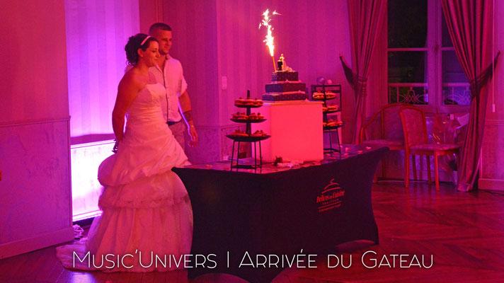 Arrivé du Dessert / Mariage Franqueville