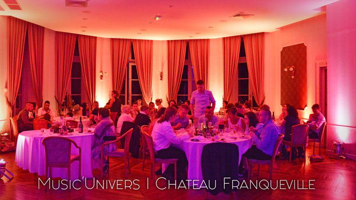 Chateau de Franqueville / Salle Rotonde Déco Ambré