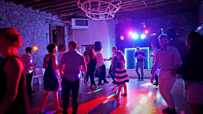 Salle du Bas, salle de danse