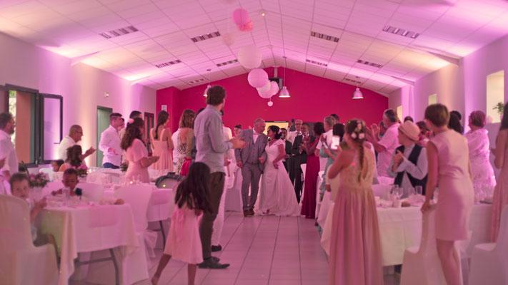 Entrée des mariés - Salle fetes DJ