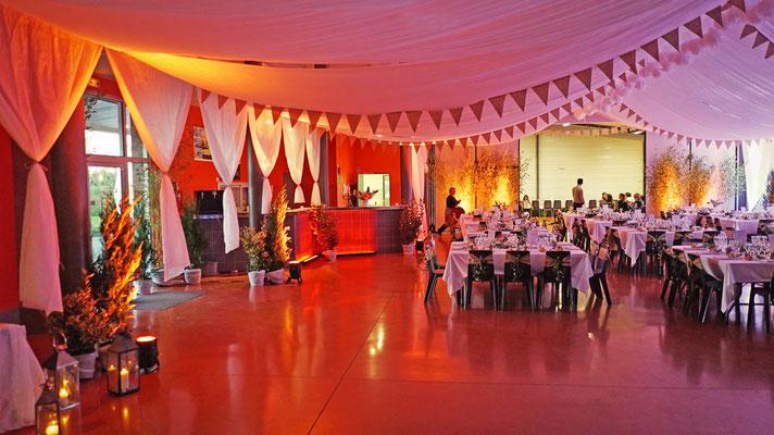 décoration guinguette mariage
