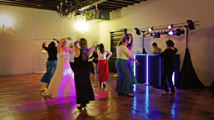 Spectacle de Flamenco pour la marié