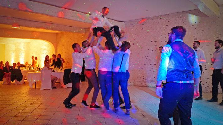 mariage temoin dansant