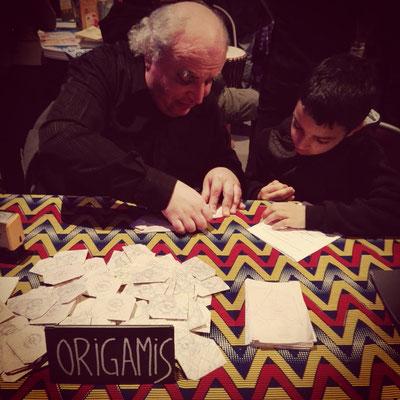Manufacture d'origamis