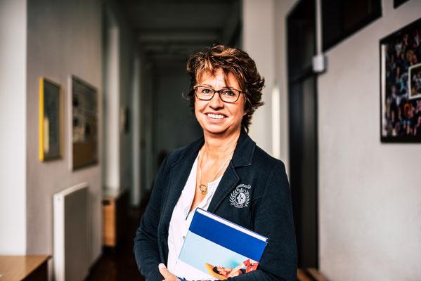 Helga Zukunft, Lehrende der Prof. Grewe Schule