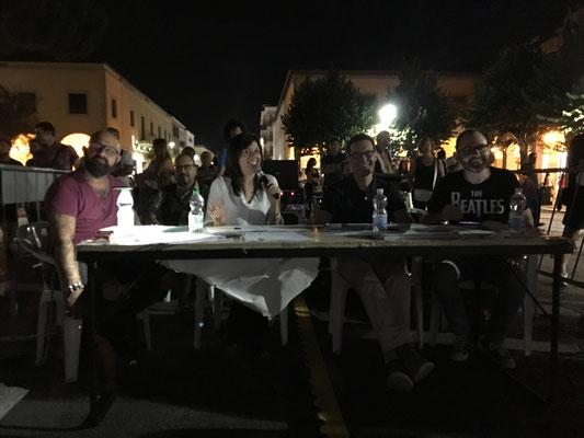 La giuria composta da Dora Nevi, Fabrizio Locicero, Guido Gavazzi e Francesco Giordani