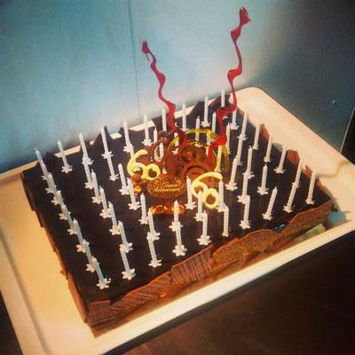 Gâteau anniversaire (Royal Chocolat)