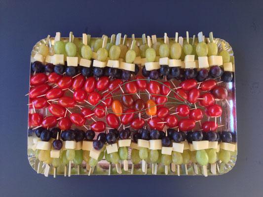 Brochettes Légumes