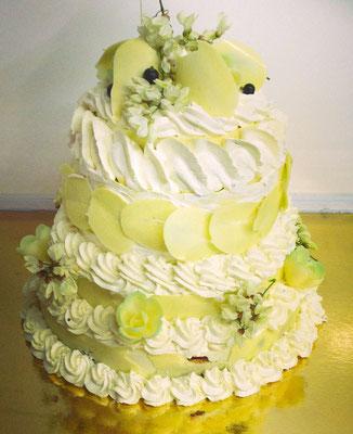 Gâteau en pièce montée