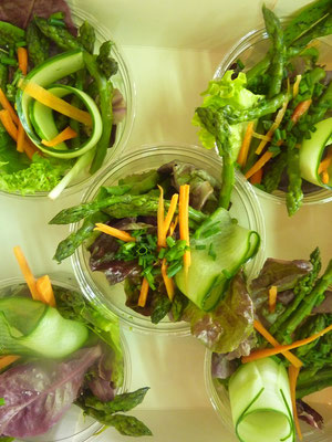 Salade composition