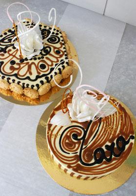Gâteau au praliné