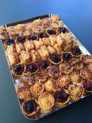 Assortiments Tartelettes feuilletées