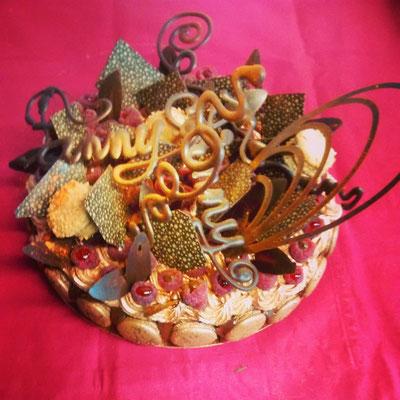 Gâteau composition chocolat