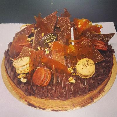 Composition Tarte au chocolat