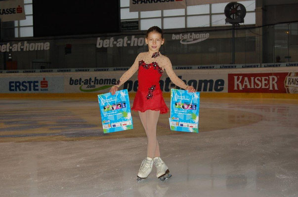 Olympia-Eisläuferin Stefanie Pesendorfer