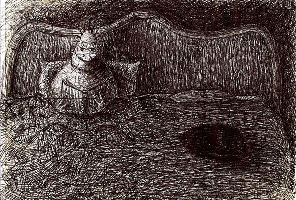 Philéas aime lire au lit