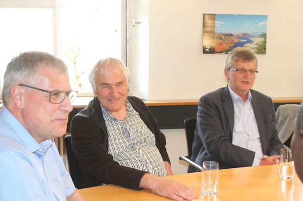 Andreas Denzel, Johannnes Angele und Leonhard Heine
