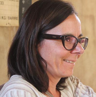 Pascale Pouzet, Vorstandsmitglied und Dolmetscherin