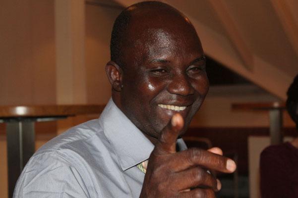 Josue Ouoba bei der Vorstandssitzung