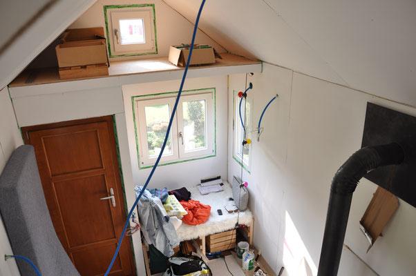Das Tiny House ist gerade mal wieder ein Riesen-Chaos