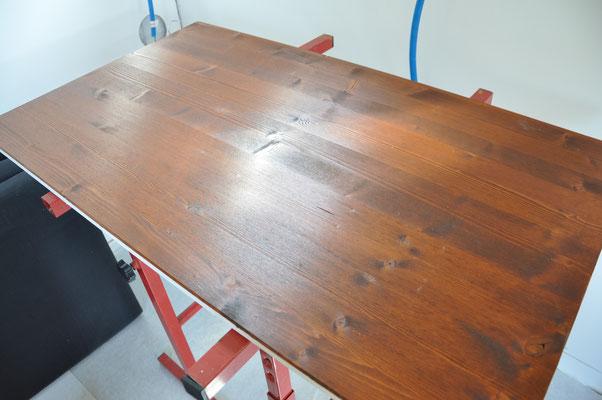 Mein zukünftiger Tisch ist noch im Bau