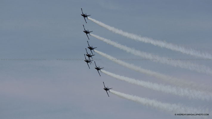 BREITLING JET TEAM JESOLO AIRSHOW 2011