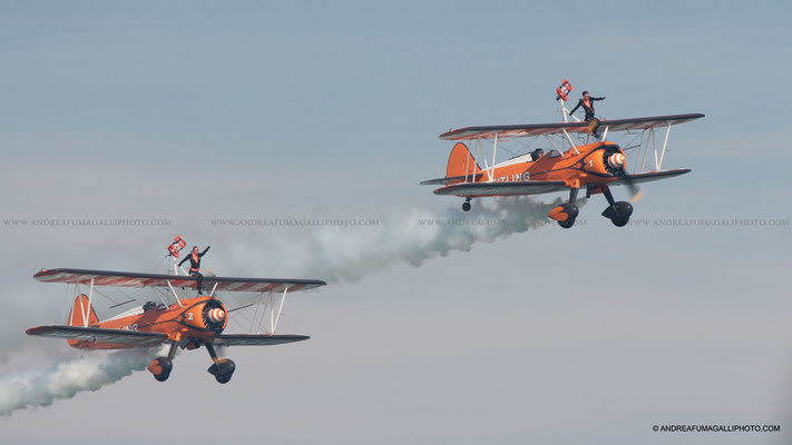 BREITLING WINGWALKERS JESOLO AIR SHOW 2011