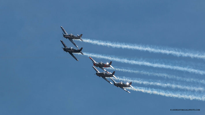 YAK ITALIA TEAM PARMA AIR SHOW 2015
