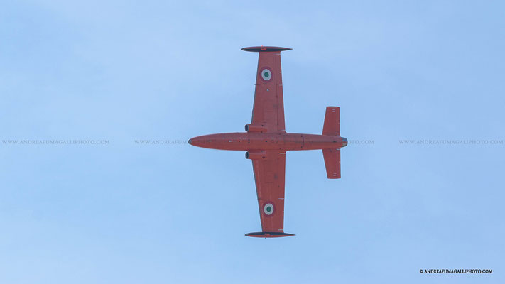 MB 326 RENZO CATELLANI PARMA AIR SHOW 2015