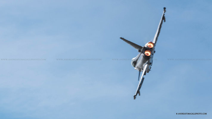 EUROFIGHTER TYPHOON PARMA AIR SHOW 2015