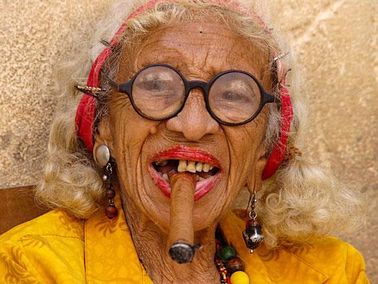 Alte Frau in Kuba - Foto: Winfried Rusch