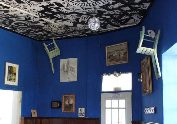 neu Gestalter Veranstaltungsraum in der ehemaligen Bar des Dorfes
