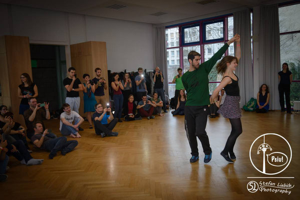 Psiu! Forró Festival Berlin 2016 - Bruno Prado Workshop