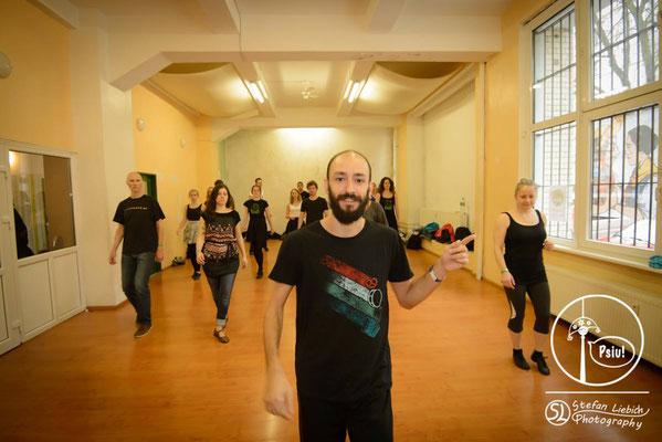 Psiu! Forró Festival Berlin 2016 - Ricardo Ambrozio Workshop